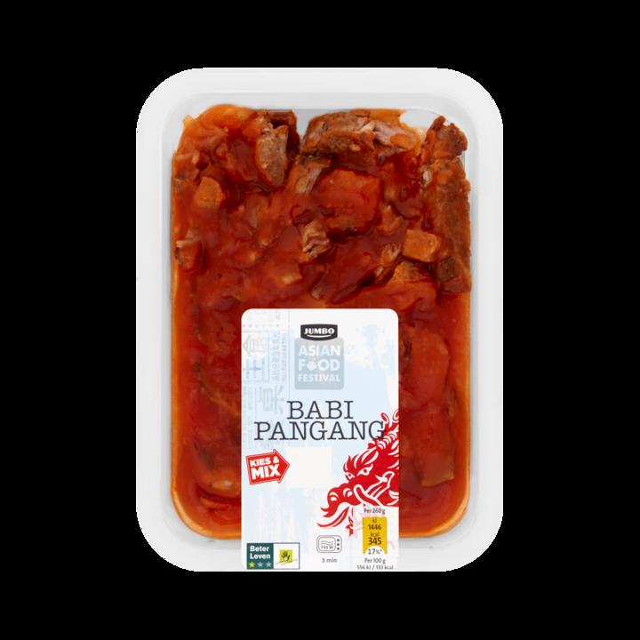 Huismerk Asian Food Festival Babi Pangang