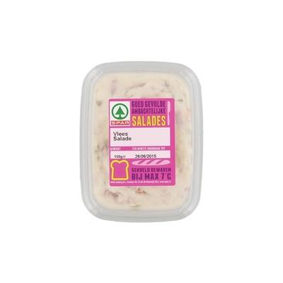 Huismerk salade vlees