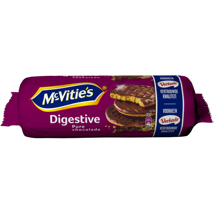McVities Digestive pure chocolade