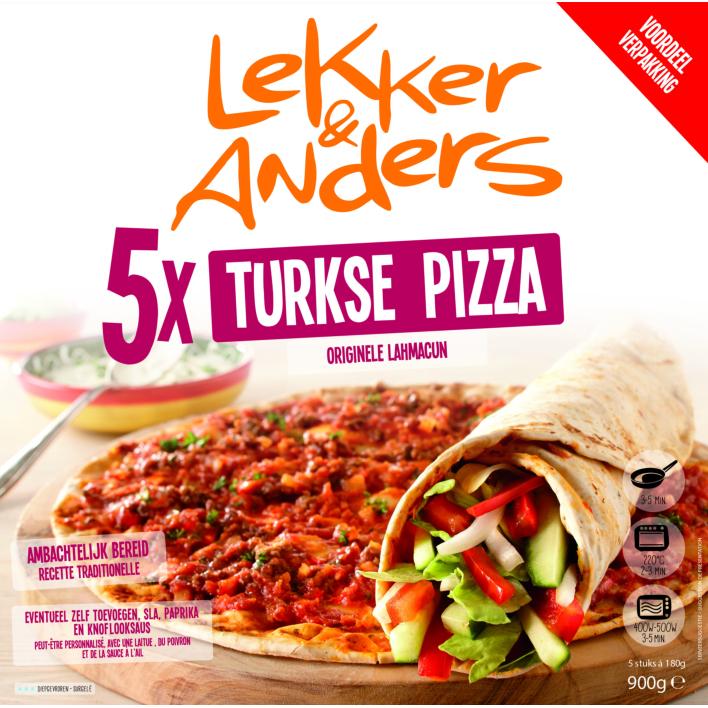 Lekker & Anders Lekker&Anders Turkse pizza