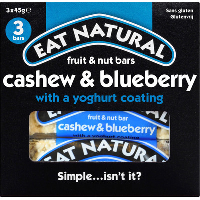 Eat Natural Cashew & blueberry