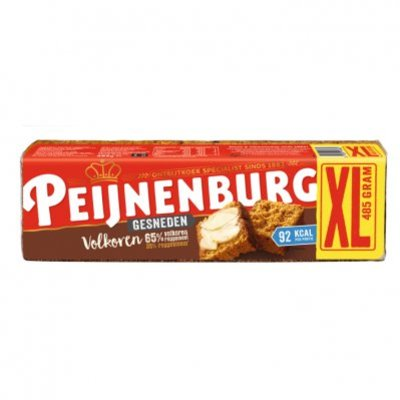 Peijnenburg Ontbijtkoek volkoren gesneden