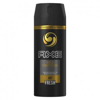 Axe Deodorant spray gold temptation