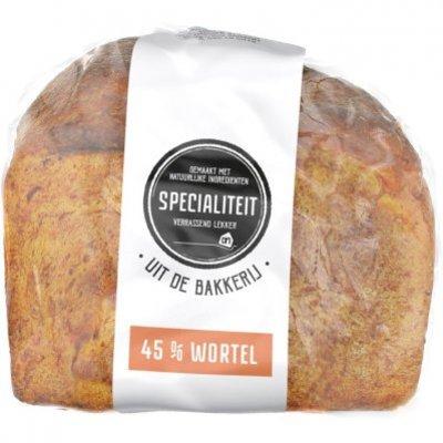 Huismerk Specialiteiten brood met wortel