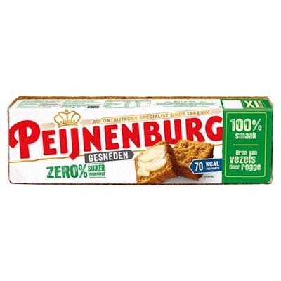 Peijnenburg zero 0% suiker gesneden 485 gram