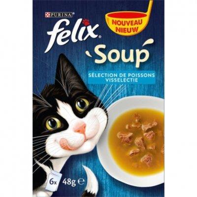 Felix Soup vis selectie