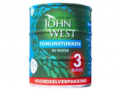 John West Tonijnstuk in water