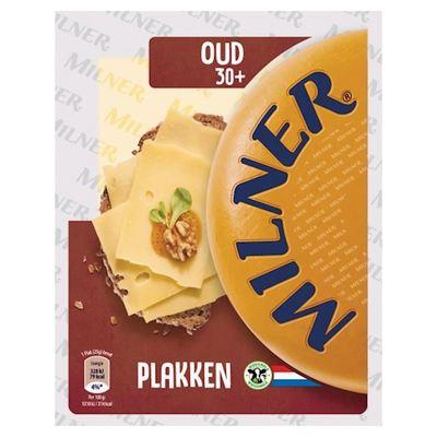 Milner oude kaas 30+ plakken 150 gram
