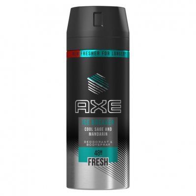 Axe Deodorant spray ice breaker