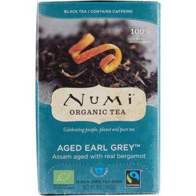 Numi Organic thee earl grey kop