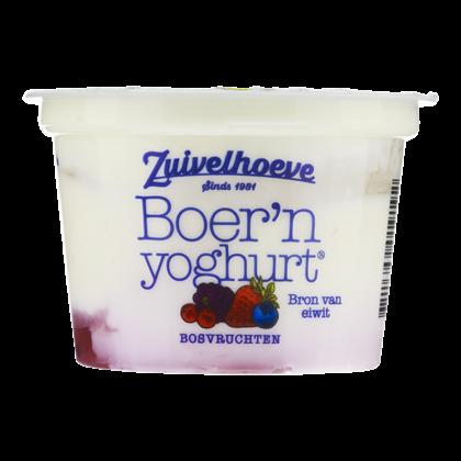 Zuivelhoeve Boer'n yoghurt bosvruchten