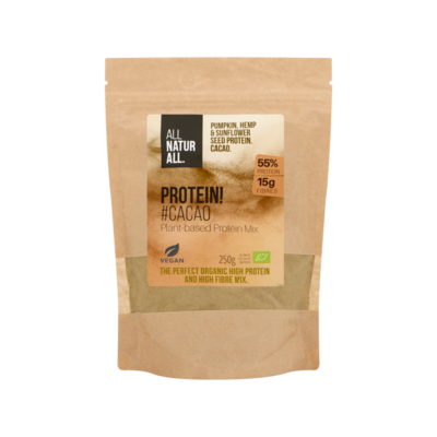 All Naturall Protein! Cacao