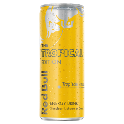 Red Bull The Summer Edition Energy Drink Tropical 250 ml