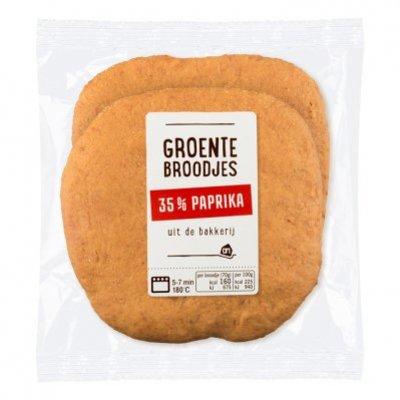 Huismerk Groentebroodjes paprika