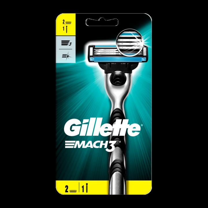 Gillette Mach3+ Scheersysteem + 1 Mesje Voor Mannen