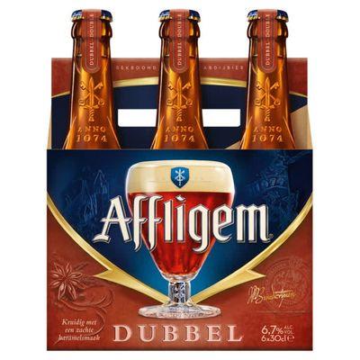 Affligem Dubbel Bier Fles 6 X 30 Cl