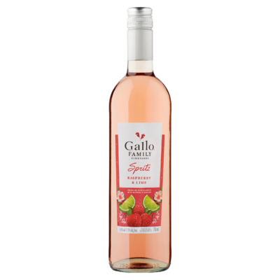 Gallo Family Vineyards Spritz Raspberry Lime Rose 0,75 L