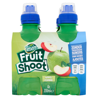 Fruit Shoot Appel 0% 4 x 200 ml