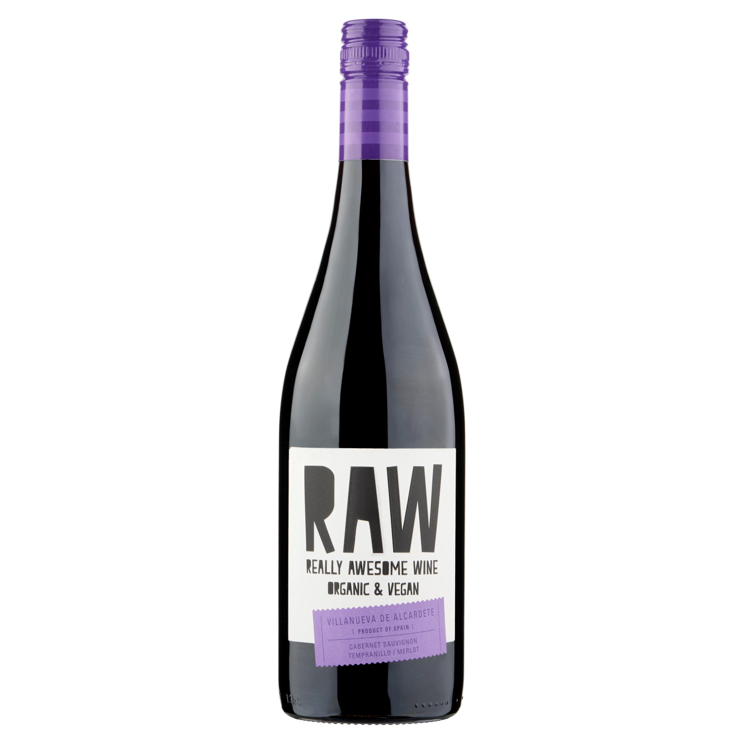 Raw Cabernet Sauvignon Tempranillo / Merlot 750 ml