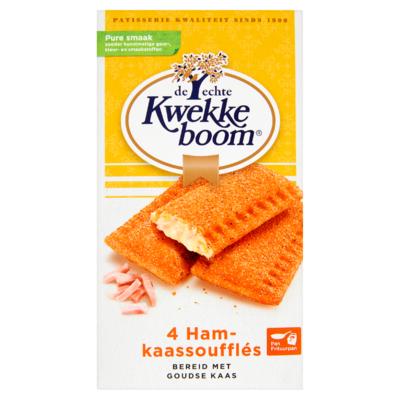 Kwekkeboom Ham-Kaassoufflés 4 x 75 g