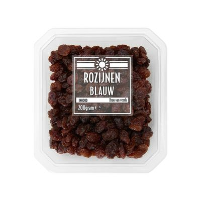 Qualino Rozijnen Blauw