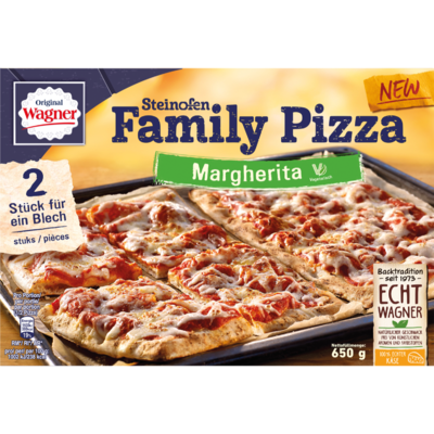 Wagner Family pizza margherita