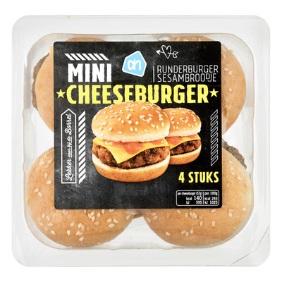 Huismerk Mini hamburger
