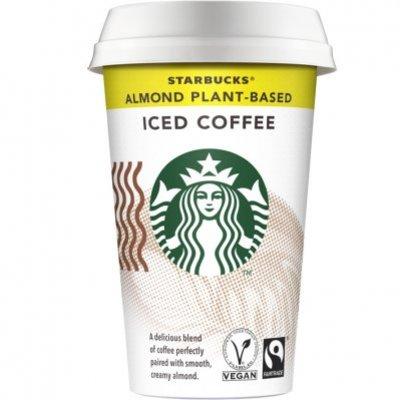 Starbucks Almond plantbased ijskoffie