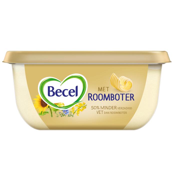 Becel Met roomboter lekker op brood