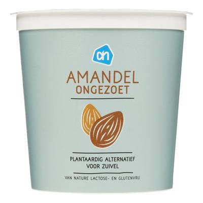 Huismerk Amandel yoghurt plantaardige variatie