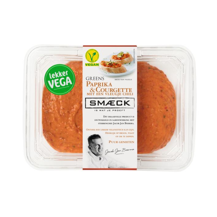 Smaeck Greens paprika & courgette