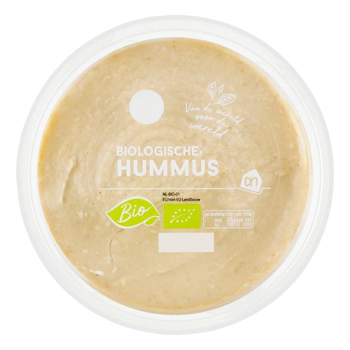 Huismerk Biologische hummus
