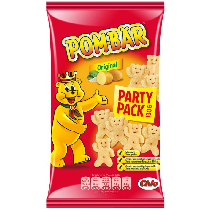 Chio Pombär original partypack