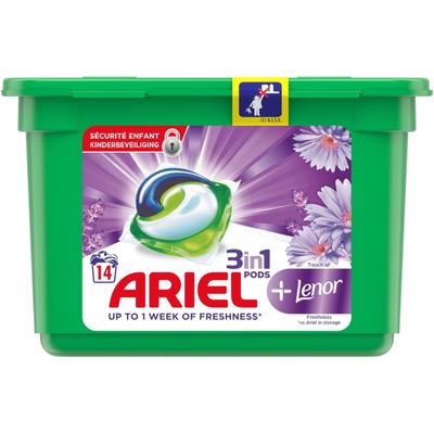 Ariel Pods+ Lenor