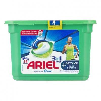 Ariel Pods+ active wasmiddelcapsules