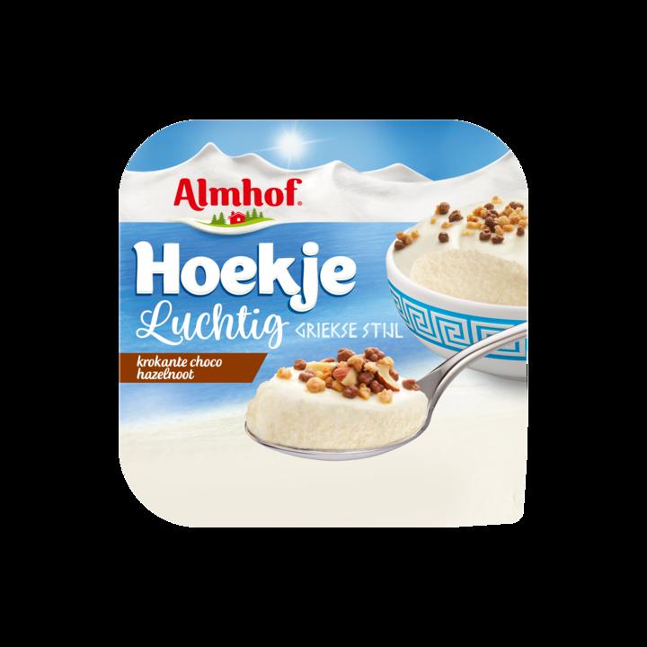 Almhof Hoekje Luchtig Krokante Choco Hazelnoot