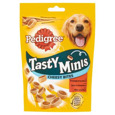 Pedigree Hondensnacks Tasty Minis Cheesy Bites Kaas & Rund 140 g