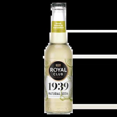 Royal Club Natural Soda Fresh Lemon Cucumber Flesje