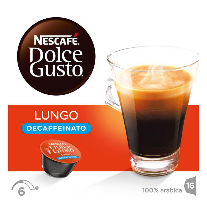 Nescafé Dolce Gusto Caffe lungo decaffeinato