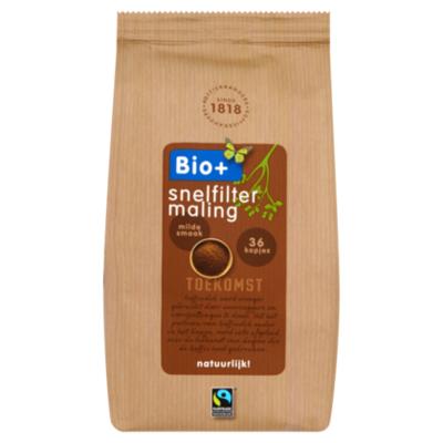 Bio+ Koffie snelfiltermaling Dutch Roast