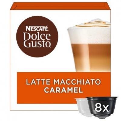 Nescafé Dolce Gusto Caramel latte macchiato koffie cups