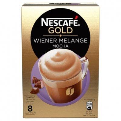 Nescafé Gold wiener melange mocha oploskoffie