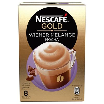 Nescafé Gold wiener melange mocha
