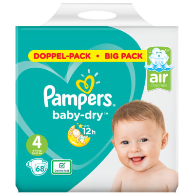 Pampers Baby dry maxi maat 4 bigpack