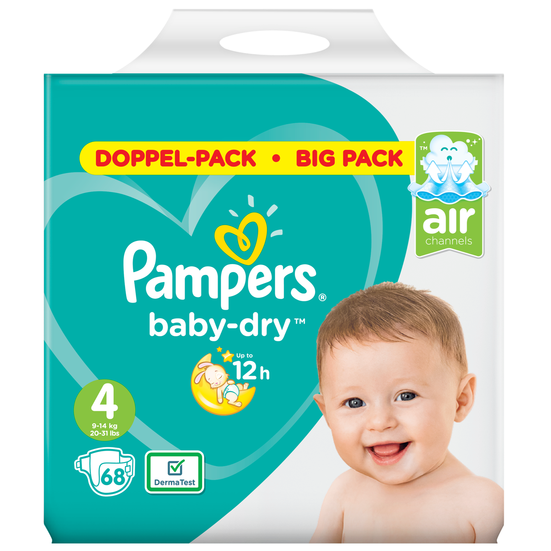 Pampers Baby dry maxi maat 4 bigpack
