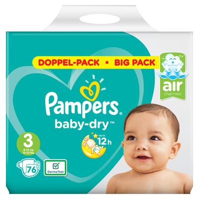 Pampers Baby dry midi maat 3 bigpack