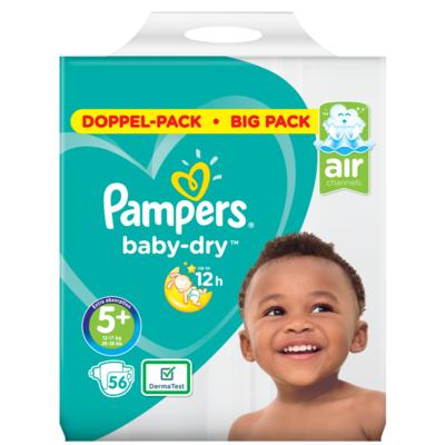 Pampers Baby dry junior maat 5 bigpack