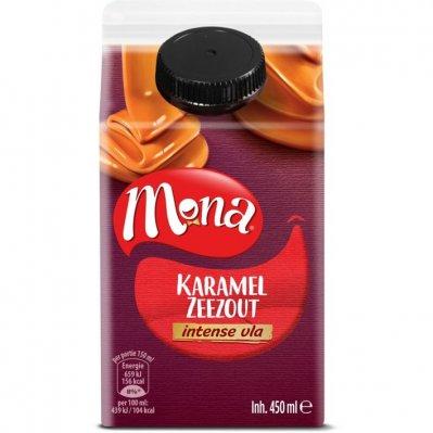 Mona Intens vla karamel zeezout
