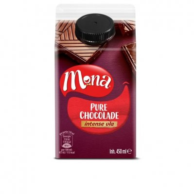 Mona Intens vla pure chocolade