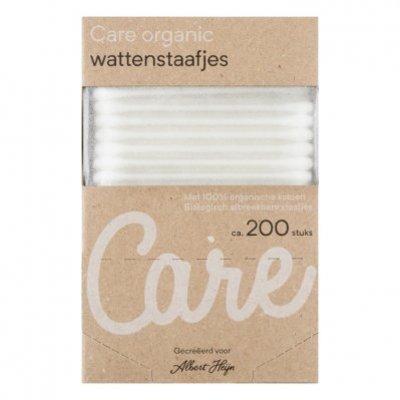 Care Organic wattenstaafjes